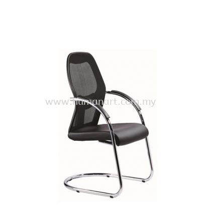 TECH VISITOR ERGONOMIC MESH CHAIR C/W CHROME CANTILEVER BASE TC3