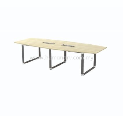 BOAT SHAPE MEETING TABLE (INCLUDED FLIPPER COVER) OBB 30