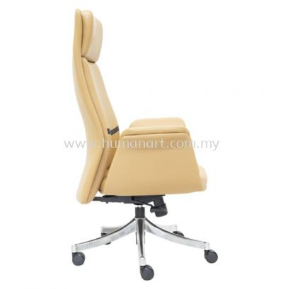 SWANSEA DIRECTOR HIGH BACK CHAIR SIDE VIEW