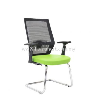 FILTON 1 VISITOR ERGONOMIC MESH CHAIR C/W CHROME CANTILEVER BASE