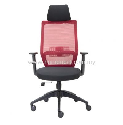 FILTON 2 HIGH BACK ERGONOMIC MESH CHAIR C/W ROCKET NYLON BASE