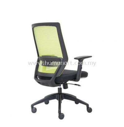 FILTON 2 MEDIUM BACK ERGONOMIC MESH CHAIR C/W ROCKET NYLON BASE