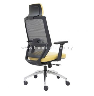 FILTON 1 HIGH BACK ERGONOMIC MESH CHAIR C/W ROCKET ALUMINIUM BASE
