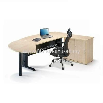 QAMAR D-SHAPE EXECUTIVE OFFICE TABLE QMB 180A (Inner View) - Uptown PJ | Pusat Bandar Damansara | Damansara Height
