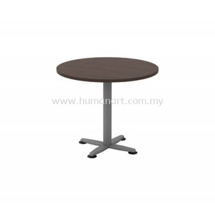 ROUND MEETING TABLE METAL BASE QR 90