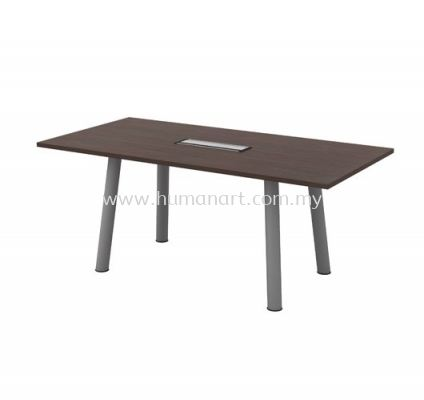 RECTANGULAR MEETING TABLE (INCLUDED FLIPPER COVER) QVC 18