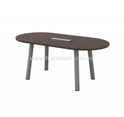 OVAL MEETING TABLE (INCLUDED FLIPPER COVER) QOC 18