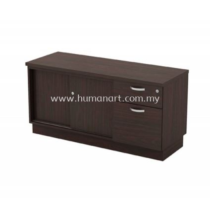 SIDE CABINET WITH SLIDING DOOR + FIXED PEDESTAL 1D1F Q-YSP 6122