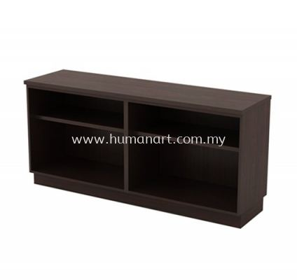 SIDE CABINET C/W DUAL OPEN SHELF LOW CABINET Q-YOO 7160