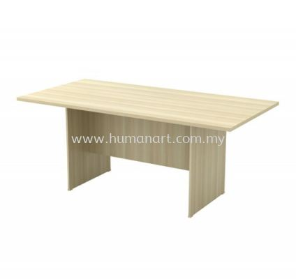 RECTANGULAR MEETING TABLE WITH WOODEN BASE EXV 18