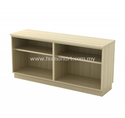 SIDE CABINET C/W DUAL OPEN SHELF LOW CABINET EX-YOO 7160