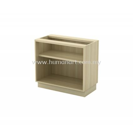LOW CABINET C/W OPEN SHELF W/O TOP Q-YO 872