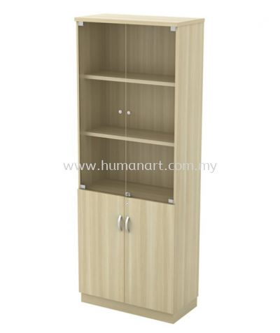 HIGH CABINET C/W SWINGING GLASS DOOR EX-YGD 21
