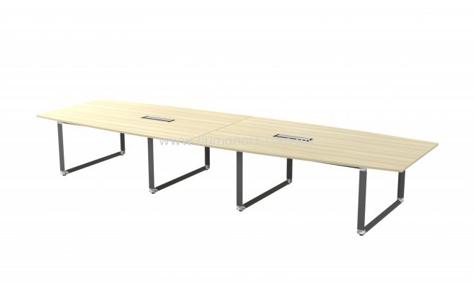 BOAT SHAPE MEETING TABLE (INCLUDED FLIPPER COVER) OBB 48