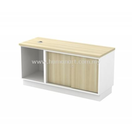 SIDE CABINET C/W OPEN SHELF + SLIDING DOOR B-YOS 1206