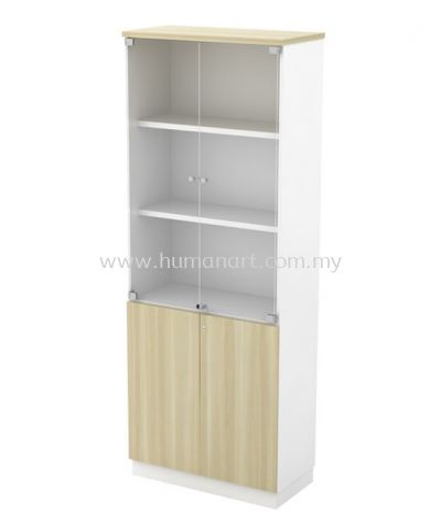 HIGH CABINET C/W SWINGING GLASS DOOR (W/O HANDLE) B-YGD 21 (E)