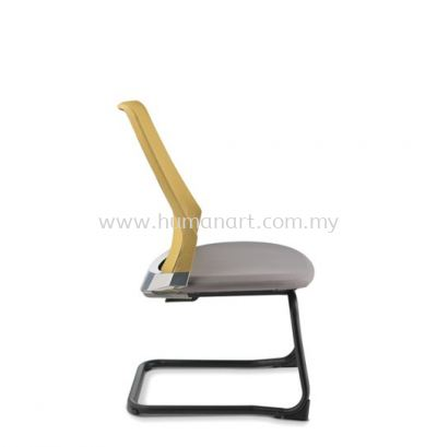 PICO VISITOR ERGONOMIC MESH CHAIR WITHOUT ARM AND EPOXY CANTILEVER BASE ASPC 8614N-92E