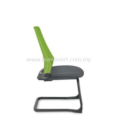 PICO VISITOR ERGONOMIC CHAIR WITHOUT ARM AND EPOXY CANTILEVER BASE ASPC 8624A-92E