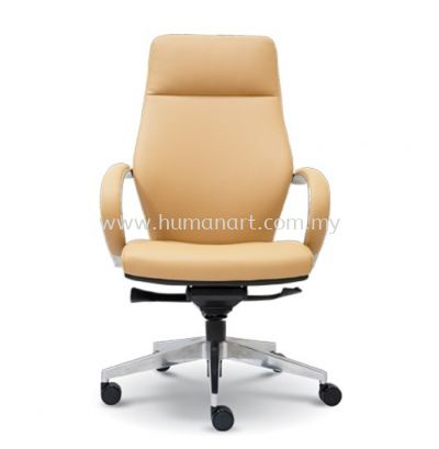 BUSSELTON DIRECTOR HIGH BACK LEATHER OFFICE CHAIR - taipan business centre   usj   imbi