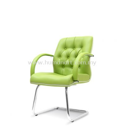 MORE DIRECTOR VISITOR CHAIR /W CHROME CANTILEVER BASE