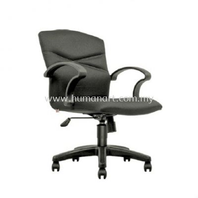 HARMONI STANDARD LOW BACK FABRIC CHAIR C/W POLYPROPYLENE BASE
