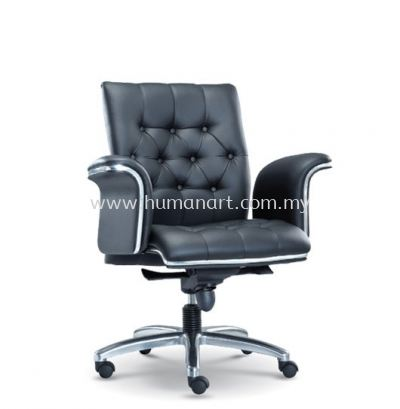 MD DIRECTOR LOW BACK LEATHER OFFICE CHAIR - kelana square | seputeh | bangi
