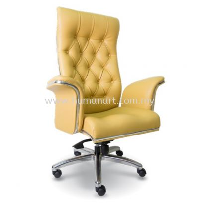 MD DIRECTOR HIGH BACK LEATHER OFFICE CHAIR - bukit gasing | old klang road | serdang