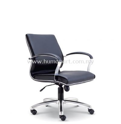 CONTI DIRECTOR LOW BACK LEATHER OFFICE CHAIR - subang light industrial park   taman perindustrian park   pudu plaza