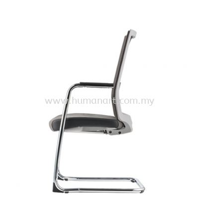 SURFACE VISITOR PU ERGONOMIC CHAIR C/W CHROME CANTILEVER BASE ASF 8413P