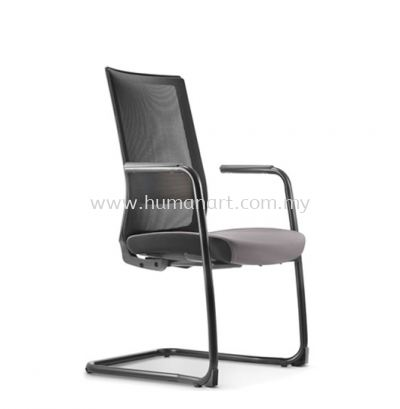 SURFACE VISITOR ERGONOMIC MESH CHAIR C/W EPOXY BLACK CANTILEVER BASE ASF 8413N
