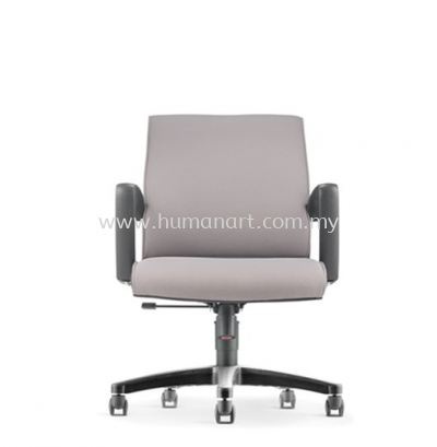 KLAIR EXECUTIVE LOW BACK FABRIC CHAIR WITH POLYPROPYLENE BASE KL-3F