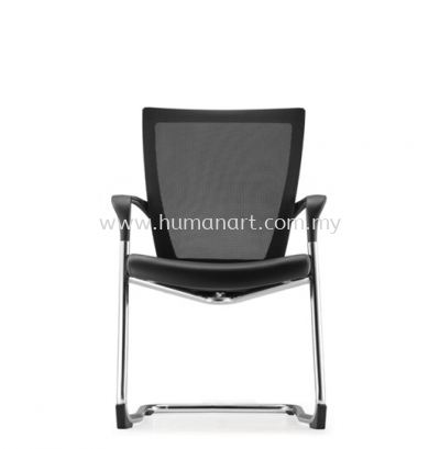 MAXIM VISITOR ERGONOMIC MESH CHAIR WITH CHROME CANTILEVER BASE AMX8113L-88CA69