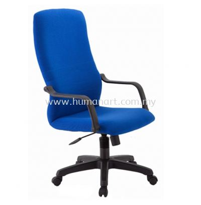 HOLA HIGH BACK FABRIC CHAIR C/W POLYPROPYLENE BASE