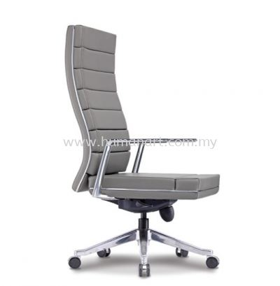 DIANTHUS DIRECTOR HIGH BACK LEATHER OFFICE CHAIR - ultramine industrial park | taipan business centre | pudu