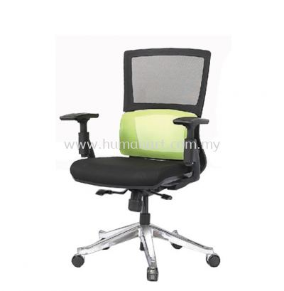 CLEMATIS 2 MEDIUM BACK ERGONOMIC MESH CHAIR C/W ALUMINIUM DIE-CAST BASE