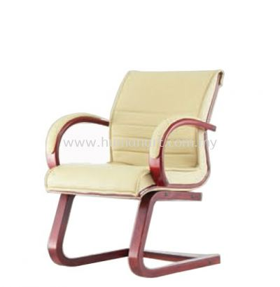 MAXIMO II (A) DIRECTOR VISITOR BACK CHAIR C/W WOODEN CANTILEVER BASE