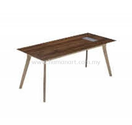RECTANGULAR TABLE WOODEN BASE C/W FLIPPER COVER PXI 1275