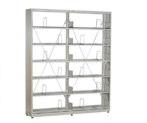 LIBRARY SHELVING DOUBLE SIDED