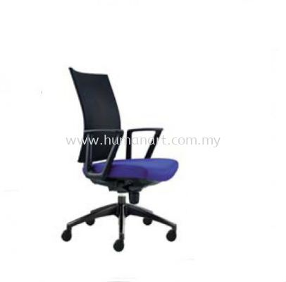INCLUDE EXECUTIVE MEDIUM BACK MESH CHAIR WITH ROCKET NYLON BASE ID 391F