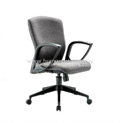 IKENO STANDARD LOW BACK CHAIR WITH NYLON ROCKET BASE