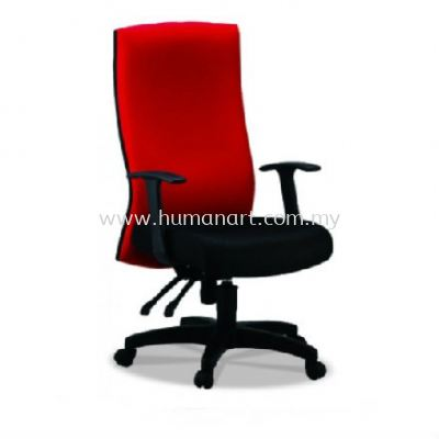 PANCO STANDARD HIGH BACK FABRIC CHAIR WITH POLYPROPYLENE BASE PC1