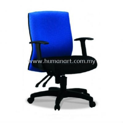 PANCO STANDARD LOW BACK FABRIC CHAIR WITH POLYPROPYLENE BASE PC3