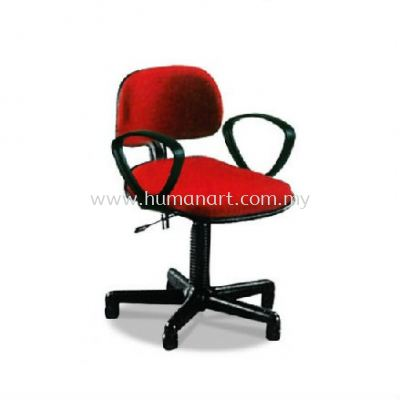 TY3 TYPIST CHAIR WITH ARMREST C/W POLYPROPYLENE BASE
