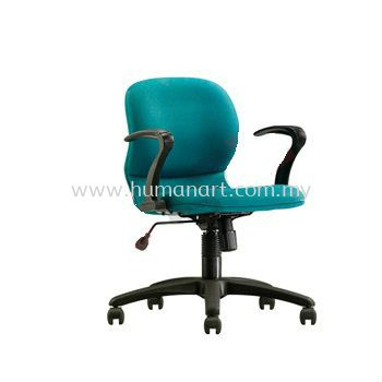 TY1 MINI LOW BACK OFFICE CHAIR WITH ARMREST AND POLYPROPYLENE BASE- kerinchi | bangsar south | ampang point