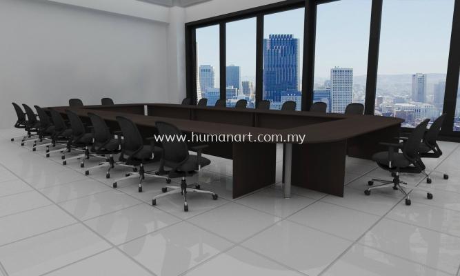 CUSTOMISED CONFERENCE OFFICE TABLE 1- bangsar south | puteri puchong | damansara kim