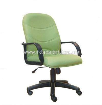 KIND STANDARD MEDIUM BACK FABRIC CHAIR WITH POLYPROPYLENE BASE ASE 8002