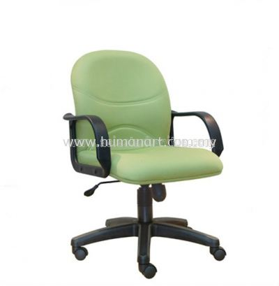 KIND STANDARD LOW BACK FABRIC CHAIR WITH POLYPROPYLENE BASE ASE 8003
