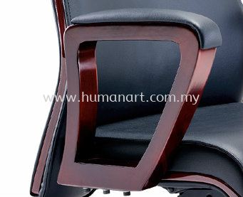 EMILY SPECIFICATION - LOOP TYPE WOODEN ARMREST WITH PADDLE ENSURING ARM SUPPPORT COMFORT