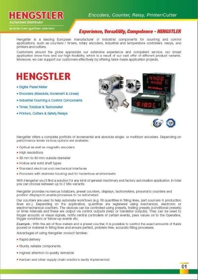 Hengstler Relay HOZ-462-1030 HOZ4621030 Malaysia