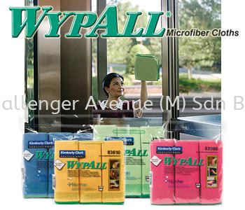WYPALL* Microfibre Cloths with MICROBAN Antimicrobial Product Protection